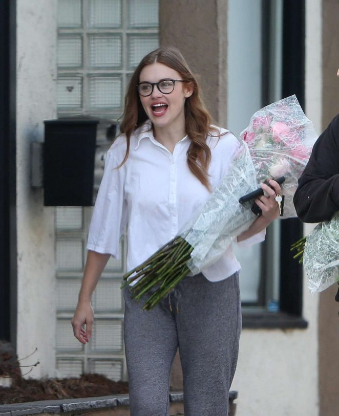 Holland Roden out in Los Angeles