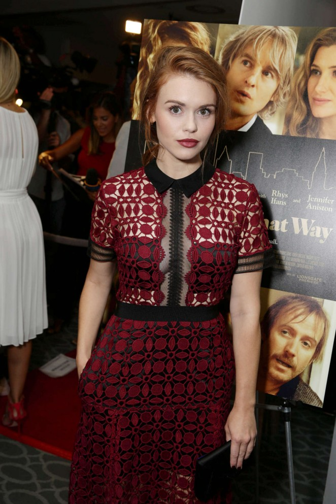 Holland Roden - 'She's Funny That Way' Premiere in LA