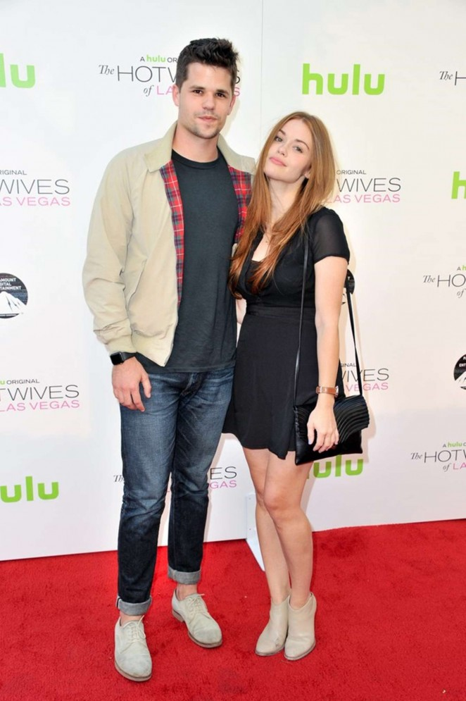 Holland Roden - 'The Hotwives Of Las Vegas' Premiere in LA