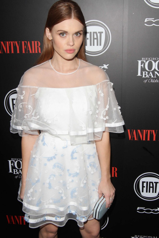 Holland Roden - Vanity Fair and FIAT Young Hollywood Celebration 2016 in Los Angeles