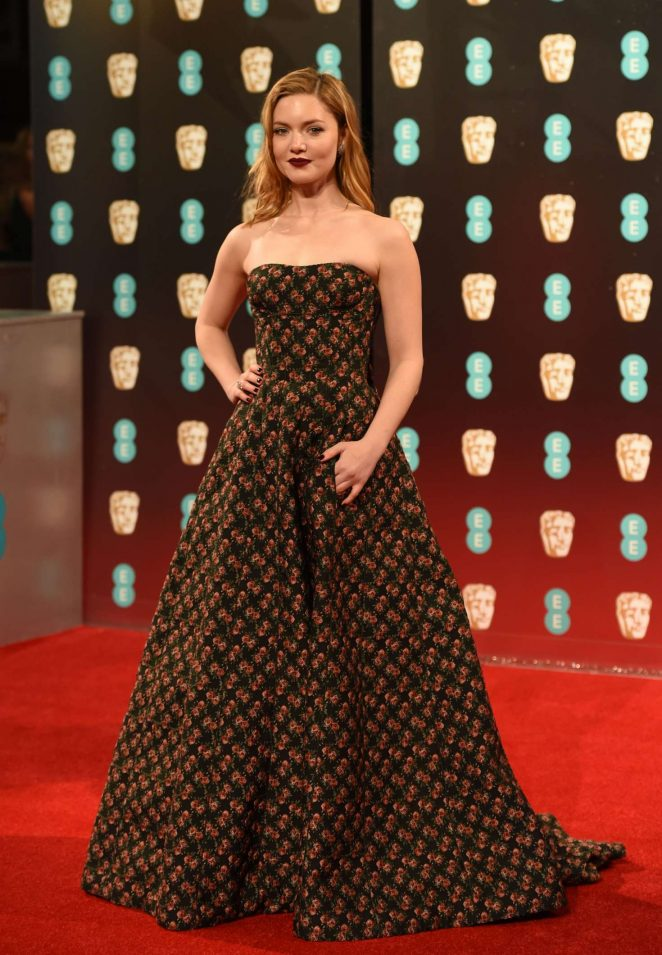 Holliday Grainger: 2017 BAFTA Awards -02