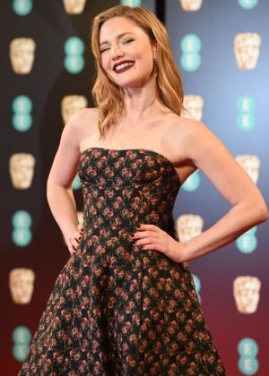 Holliday Grainger - 2017 British Academy Film Awards in London