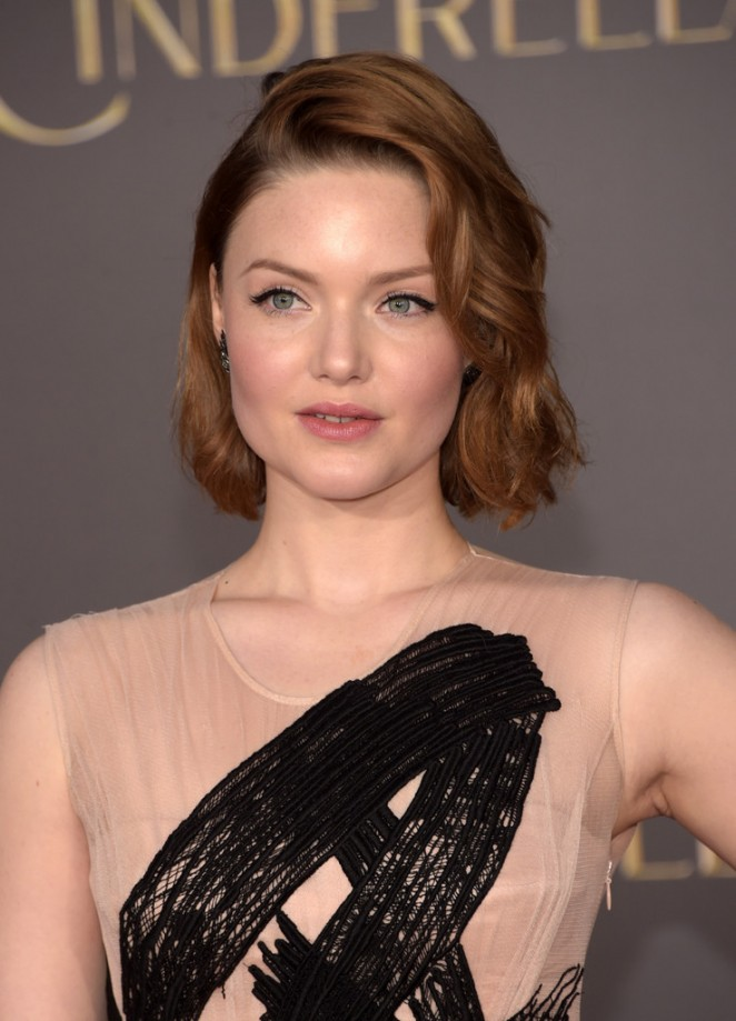 "Holliday Grainger - ""Cinderella"" Premiere in Hollywood"