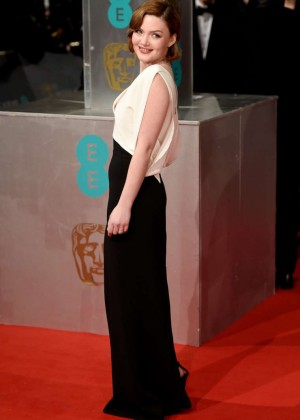 Holliday Grainger - 2015 BAFTA Awards in London