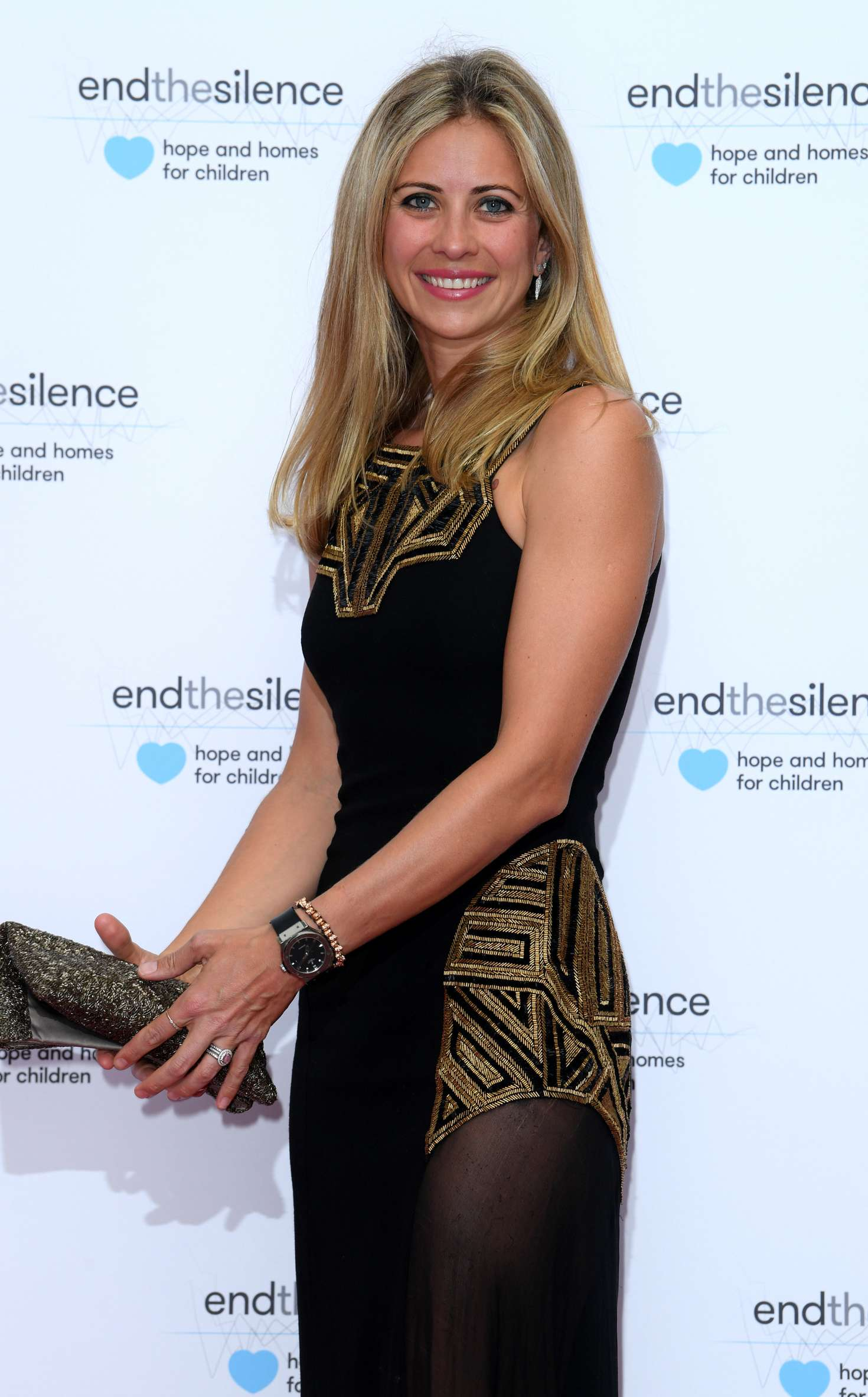 Watch Geri halliwell end the silence charity fundraiser in london uk video
