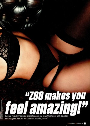 Holly Hagan: ZOO Magazine 2015 -05