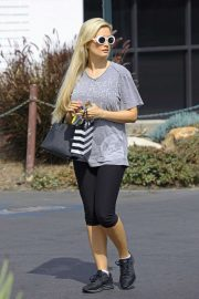 Holly Madison in Tights - Out in Los Angeles