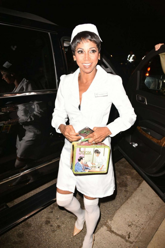Holly Robinson Peete - Casa Tequila Halloween Party in Beverly Hills