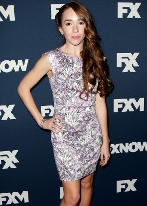 Holly Taylor - 2015 FX Bowling Party in NYC
