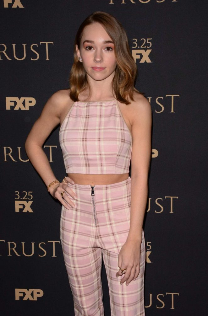 Holly Taylor - 2018 FX All-Star Party in New York