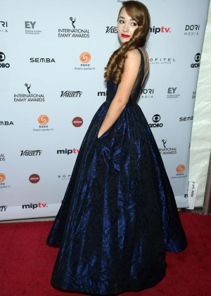 Holly Taylor - 2015 International Emmy Awards in New York