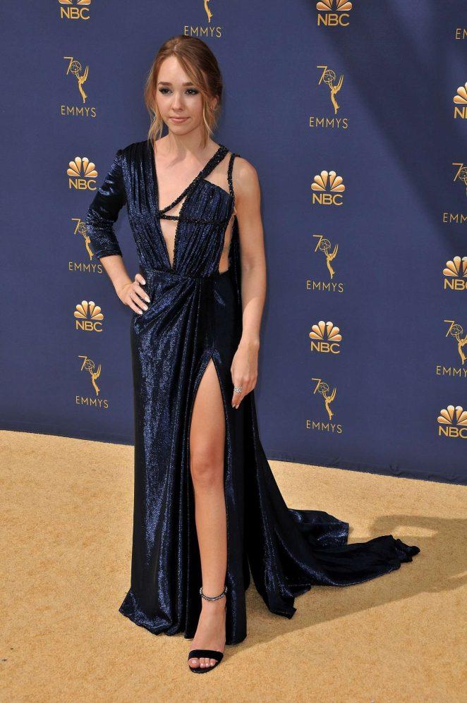 Holly Taylor – 70th Primetime Emmy Awards in LA