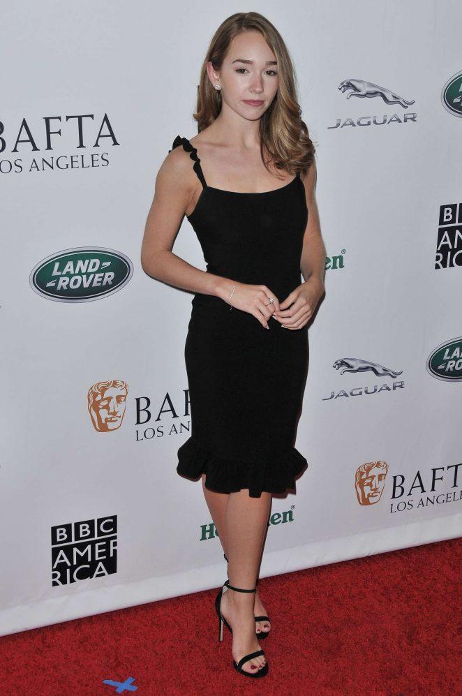Holly Taylor - BAFTA Los Angeles + BBC America TV Tea Party in LA