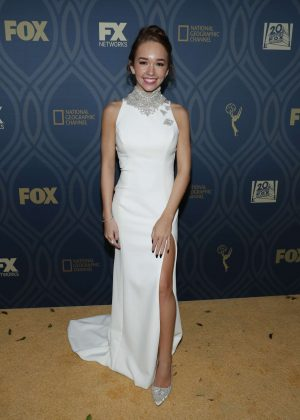 Holly Taylor - FOX Emmy After Party in Los Angeles