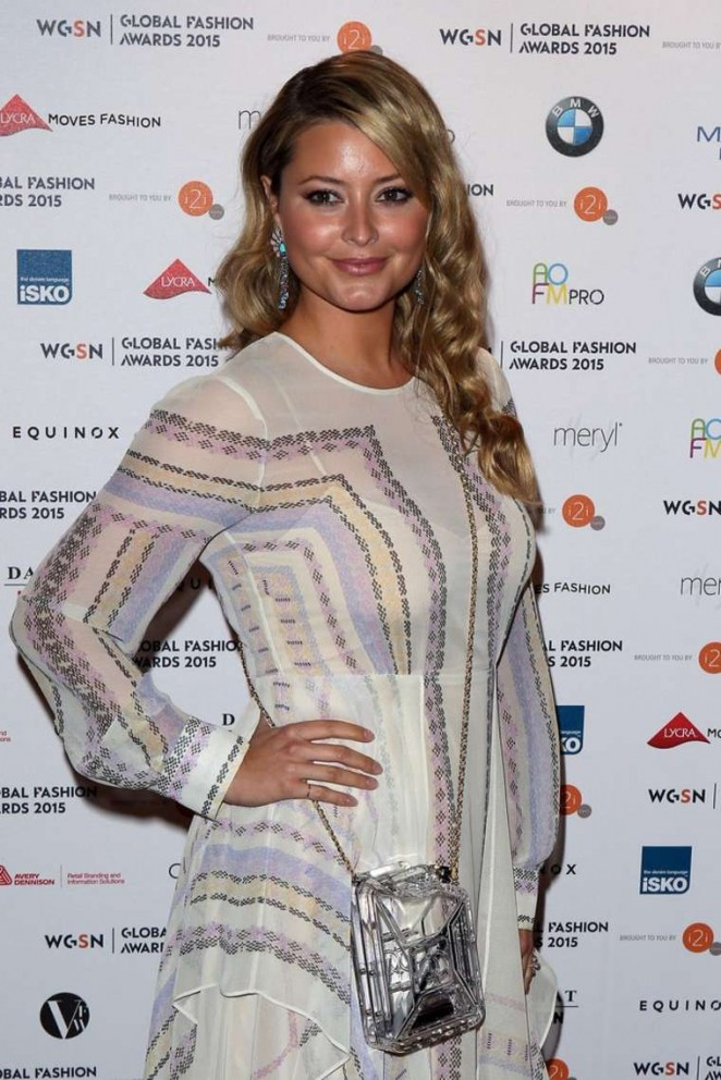 Holly Valance - Global Fashion Awards 2015 in London