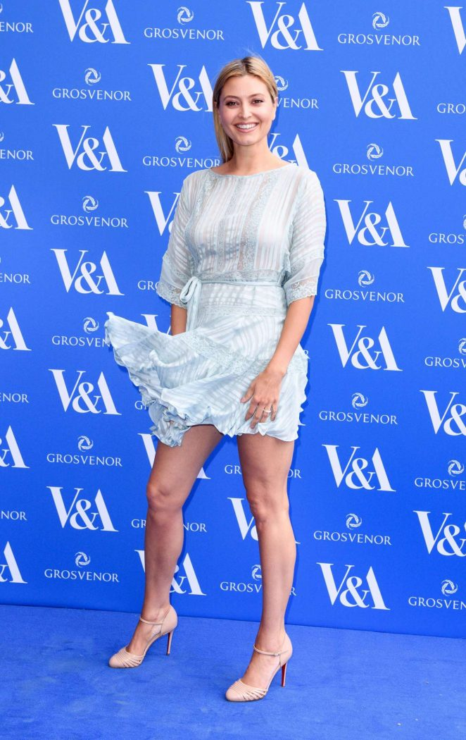 Holly Valance – The Victoria and Albert Museum Summer Party in London