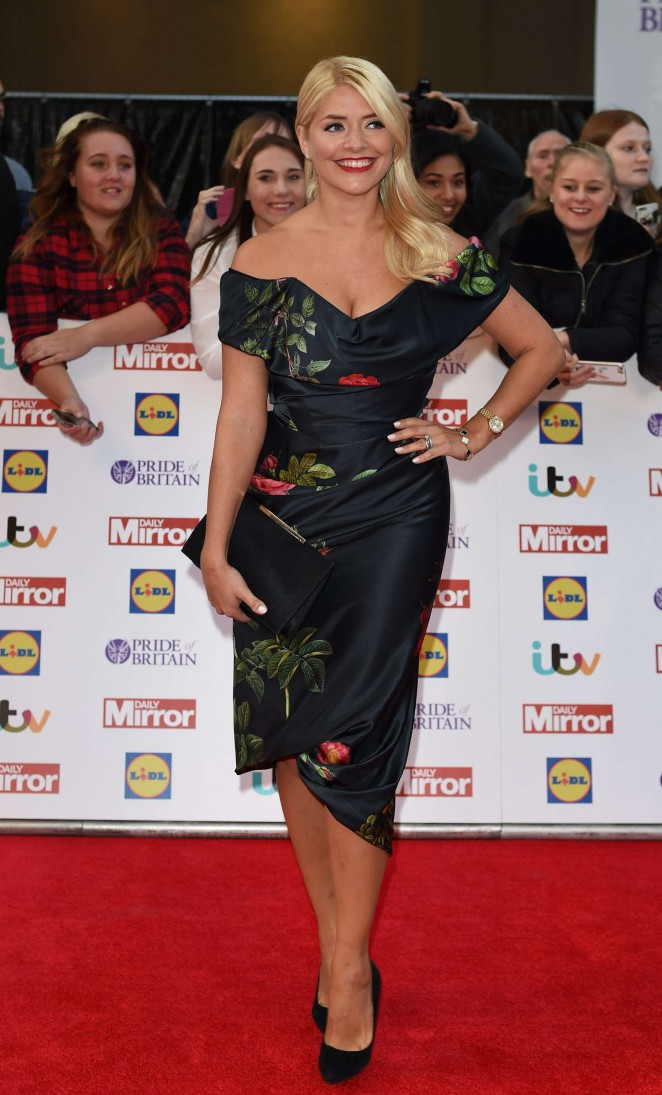 Holly Willoughby – 2015 Pride of Britain Awards in London