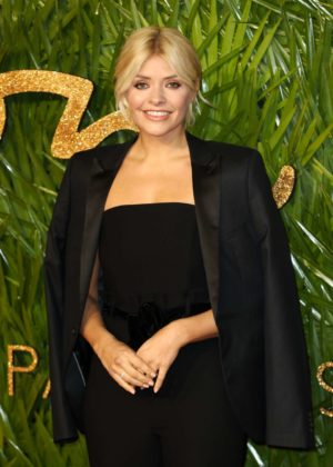 Holly Willoughby - 2017 Fashion Awards in London