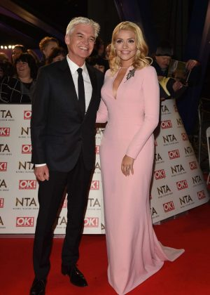 Holly Willoughby - 2017 National Television Awards in London