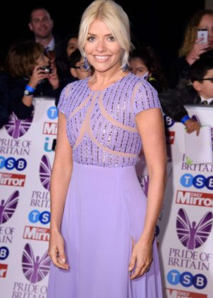 Holly Willoughby - 2017 Pride Of Britain Awards in London