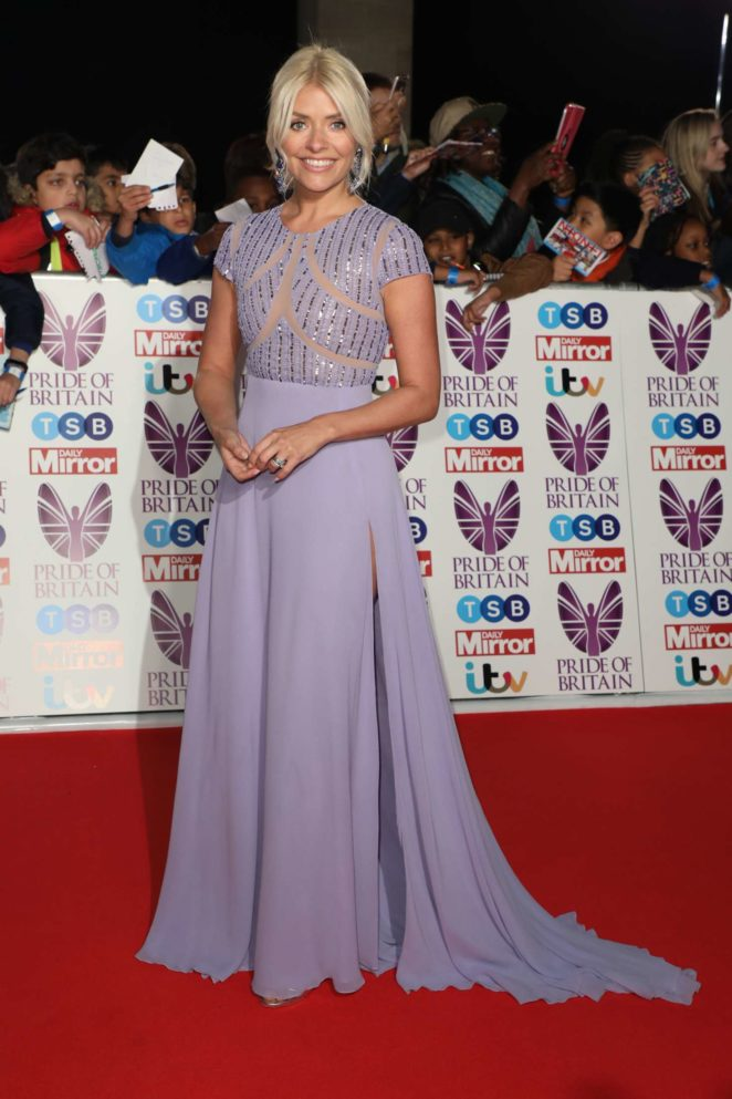 Holly Willoughby: 2017 Pride Of Britain Awards -24