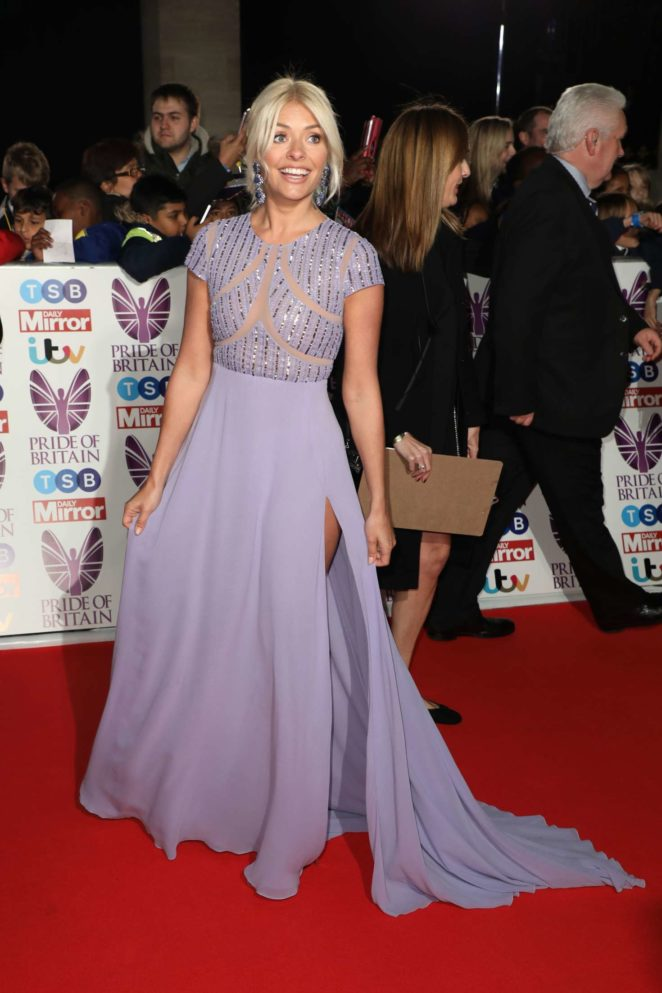 Holly Willoughby 2017 : Holly Willoughby: 2017 Pride Of Britain Awards -28