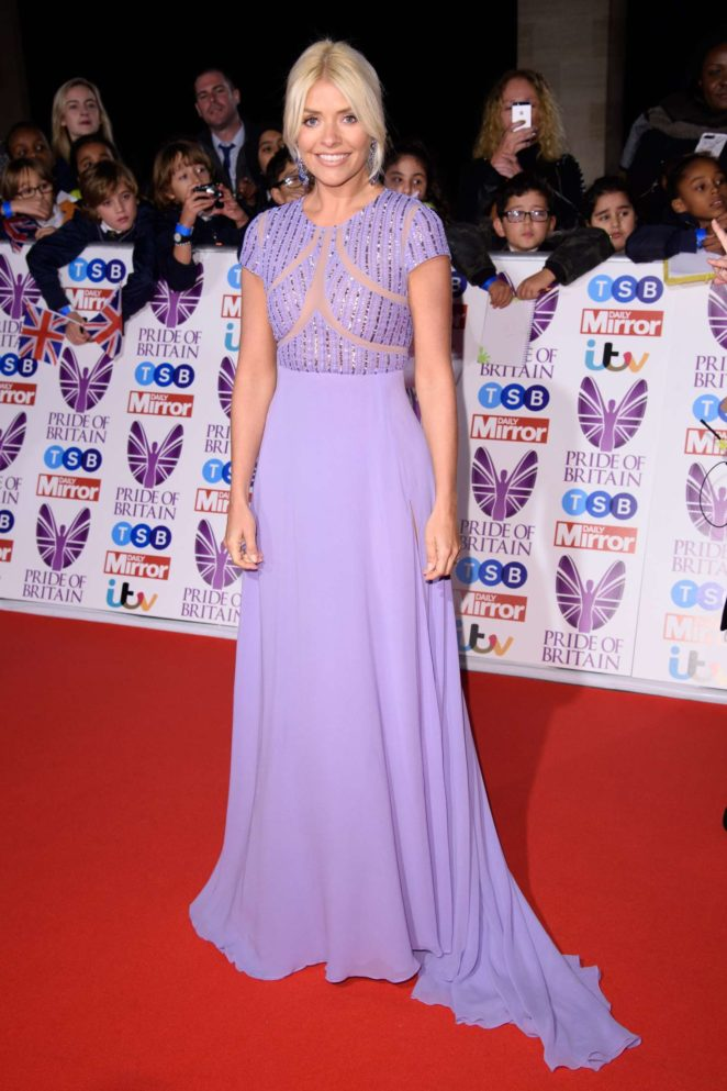 Holly Willoughby: 2017 Pride Of Britain Awards -42