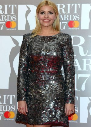 Holly Willoughby - BRIT Awards 2017 in London