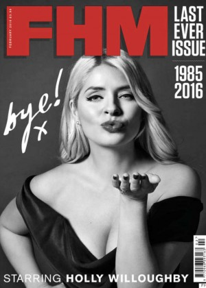 Holly Willoughby - FHM Magazine (February 2016)