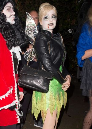 Holly Willoughby - Jonathan Ross Halloween House Party in London