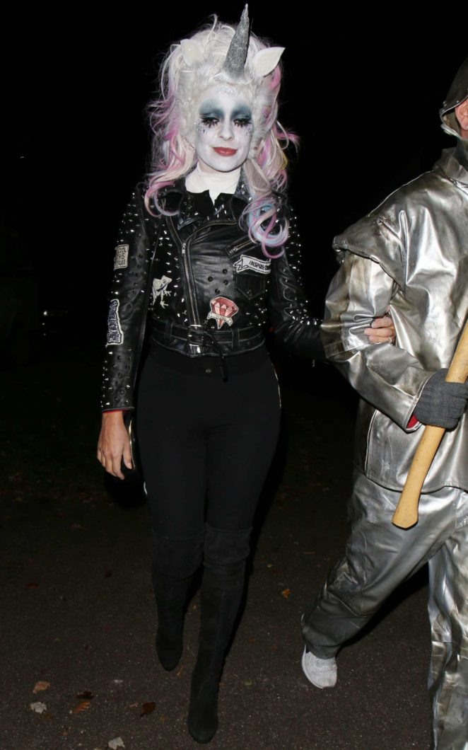 Holly Willoughby - Jonathan Ross Halloween Party in London