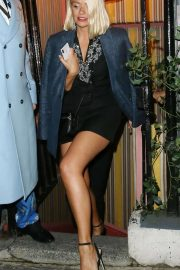 Holly Willoughby - Leaving Annabel's Private Club in London