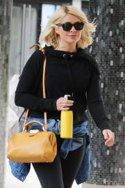 Holly Willoughby - Leaving ITV Studios in London