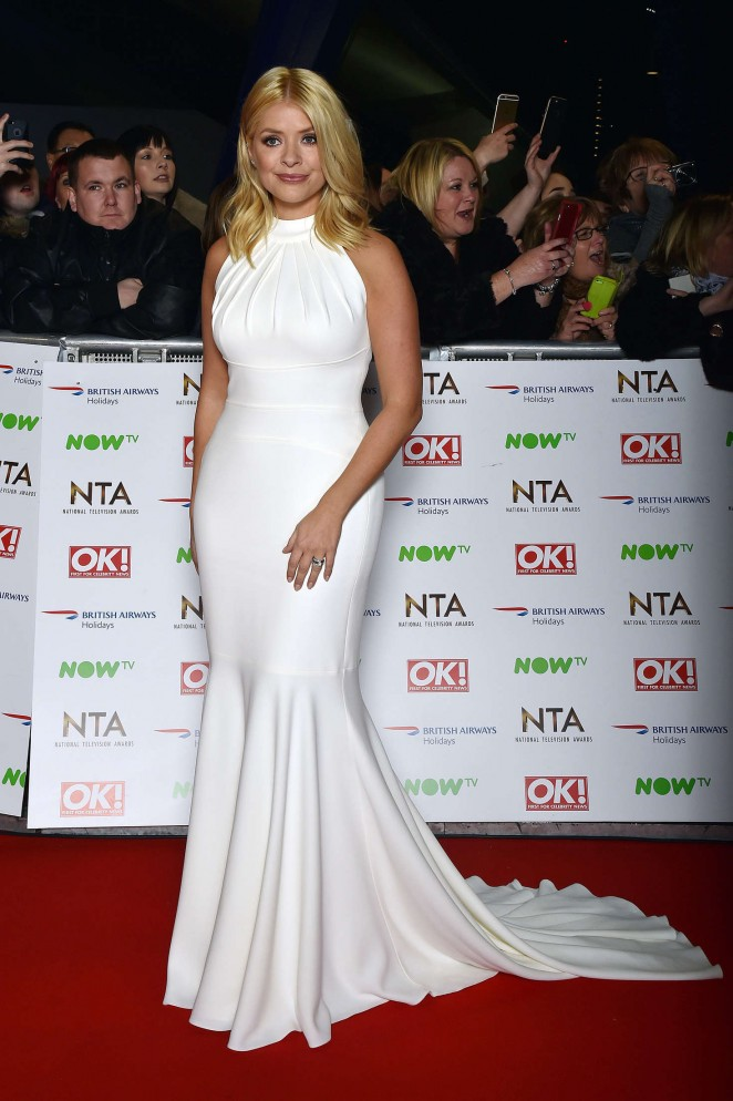 Holly Willoughby - National Television Awards 2016 in London