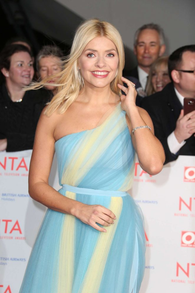 Holly Willoughby – National Television Awards 2018 in London