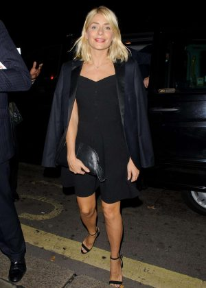 Holly Willoughby - Night Out in Mayfair