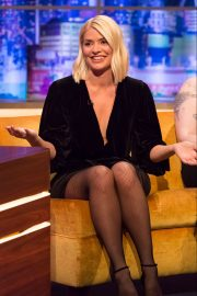 Holly Willoughby - On The Jonathan Ross Show TV show in London