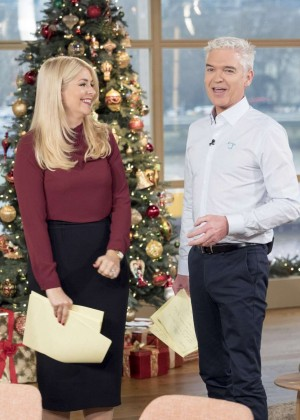 Holly Willoughby - This Morning TV Show in London