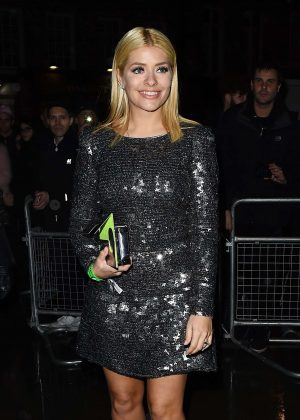 Holly Willoughby - Universal Music Brit Awards After Party in London