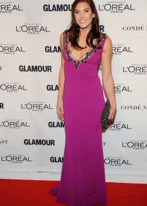 Hope Solo - 2015 Glamour Women of the Year Awards in NY