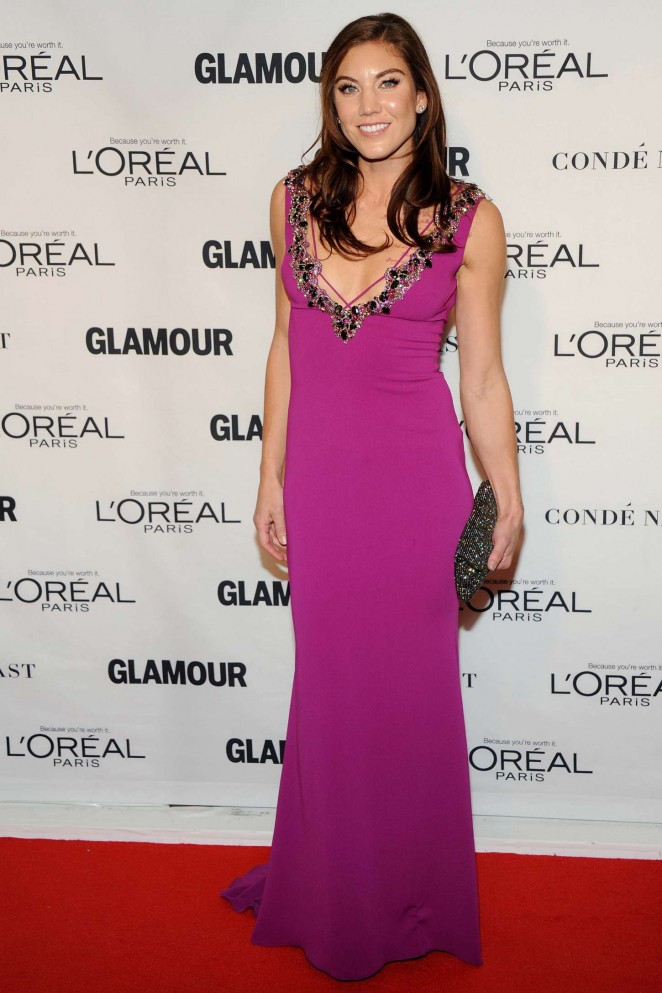 Hope Solo – 25th Annual Glamour Women of the Year Awards in NY