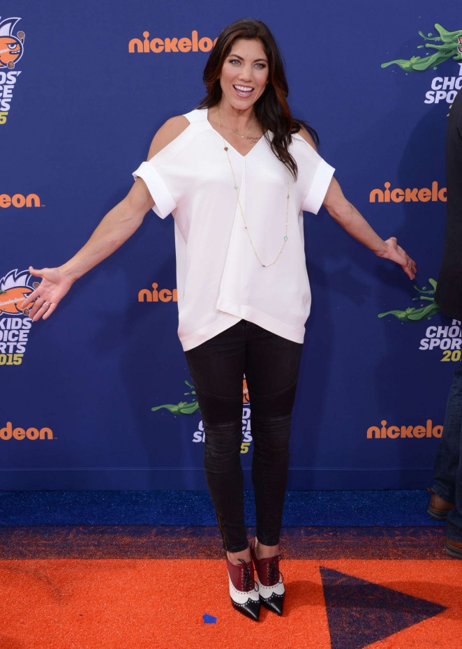 Hope Solo – Nickelodeon's 2nd Annual Kids' Choice Sports Awards in LA