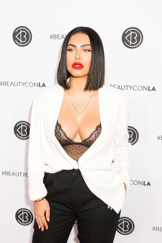 Hrush Achemyan - 5th Annual Beautycon LA Convention Center in LA
