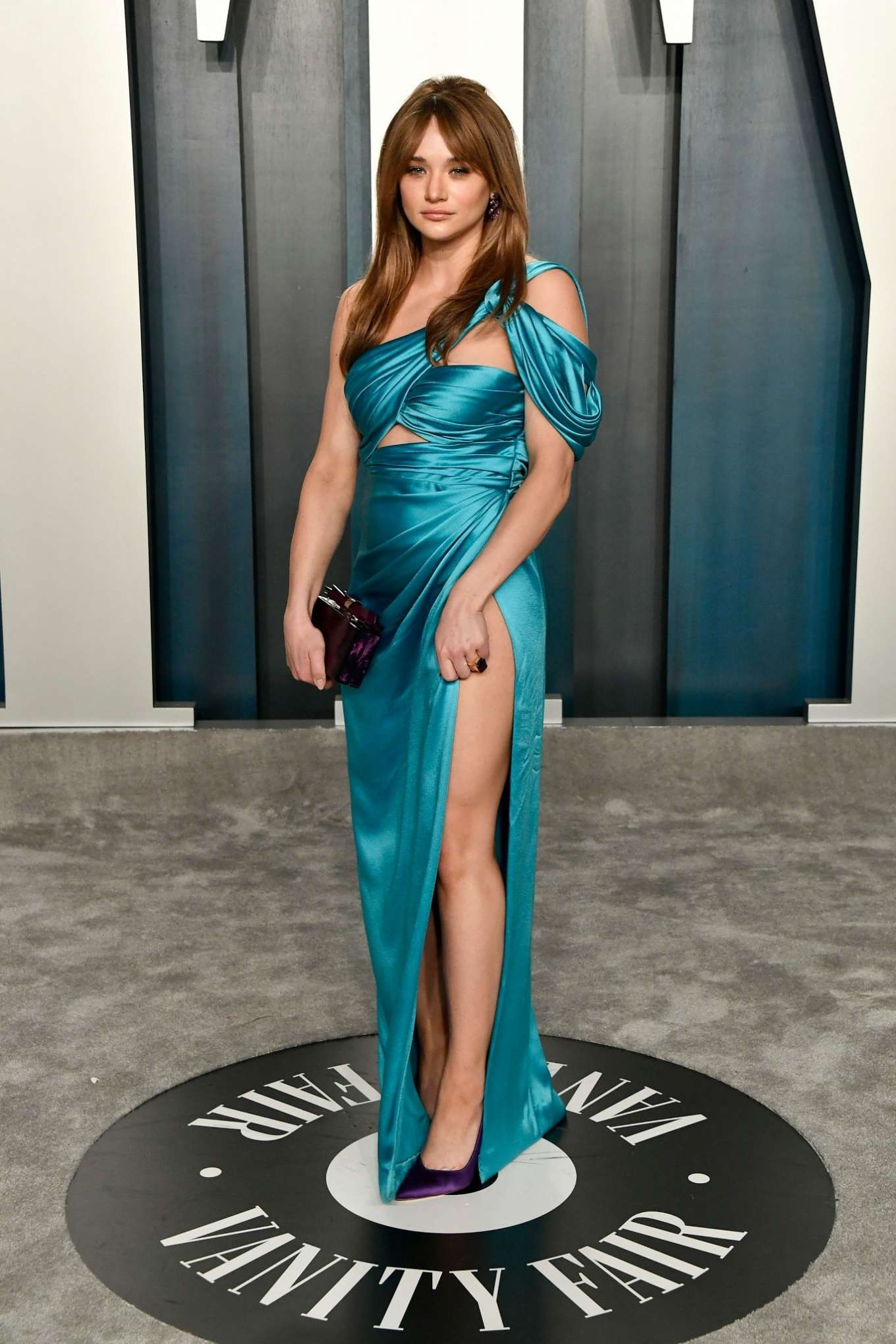 Hunter King 2020 : Hunter King – 2020 Vanity Fair Oscar Party in Beverly Hills-01