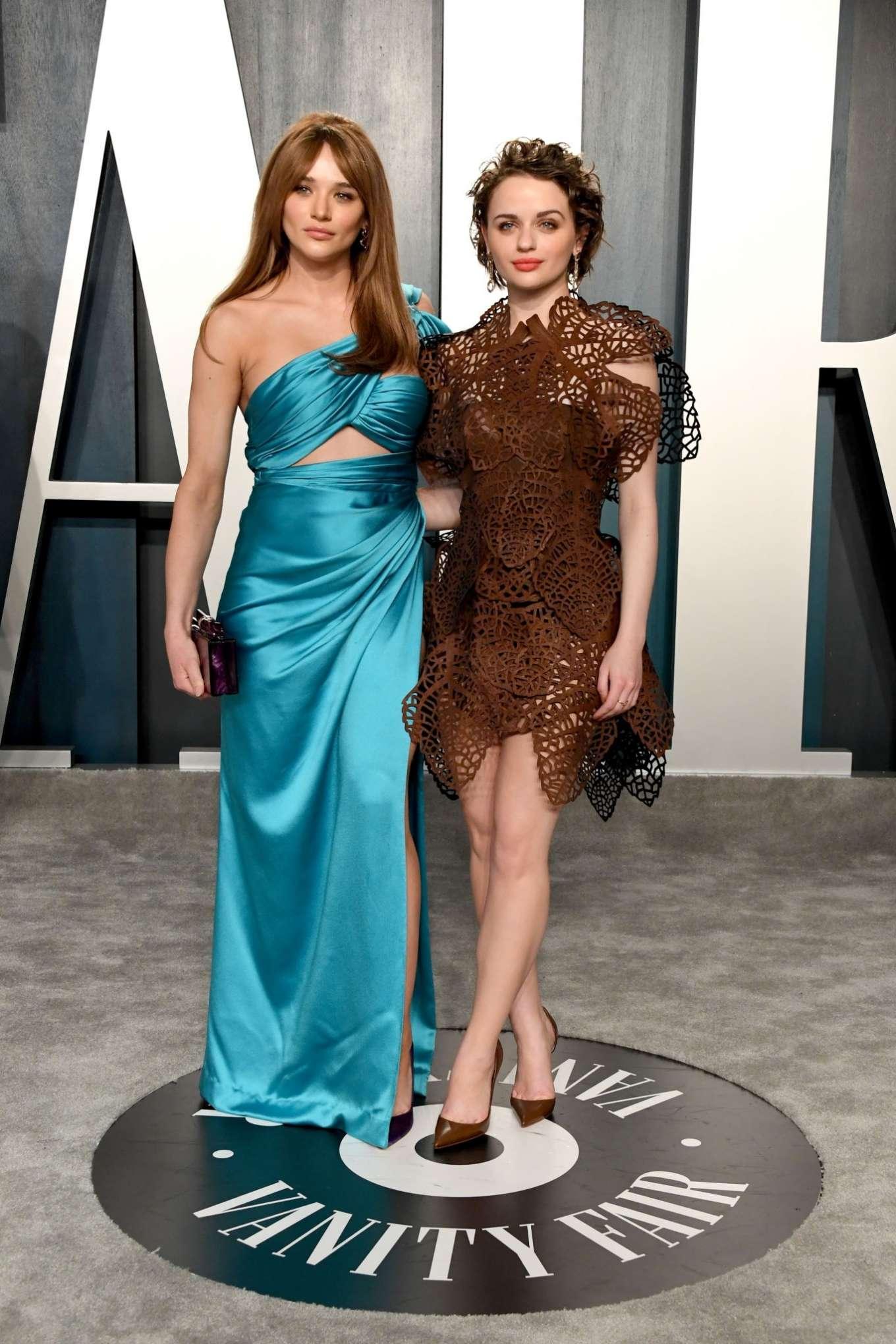 Hunter King 2020 : Hunter King – 2020 Vanity Fair Oscar Party in Beverly Hills-02