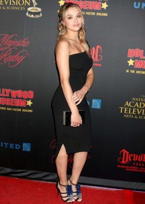 Hunter King - NATAS Daytime Emmy Nominees Reception in LA