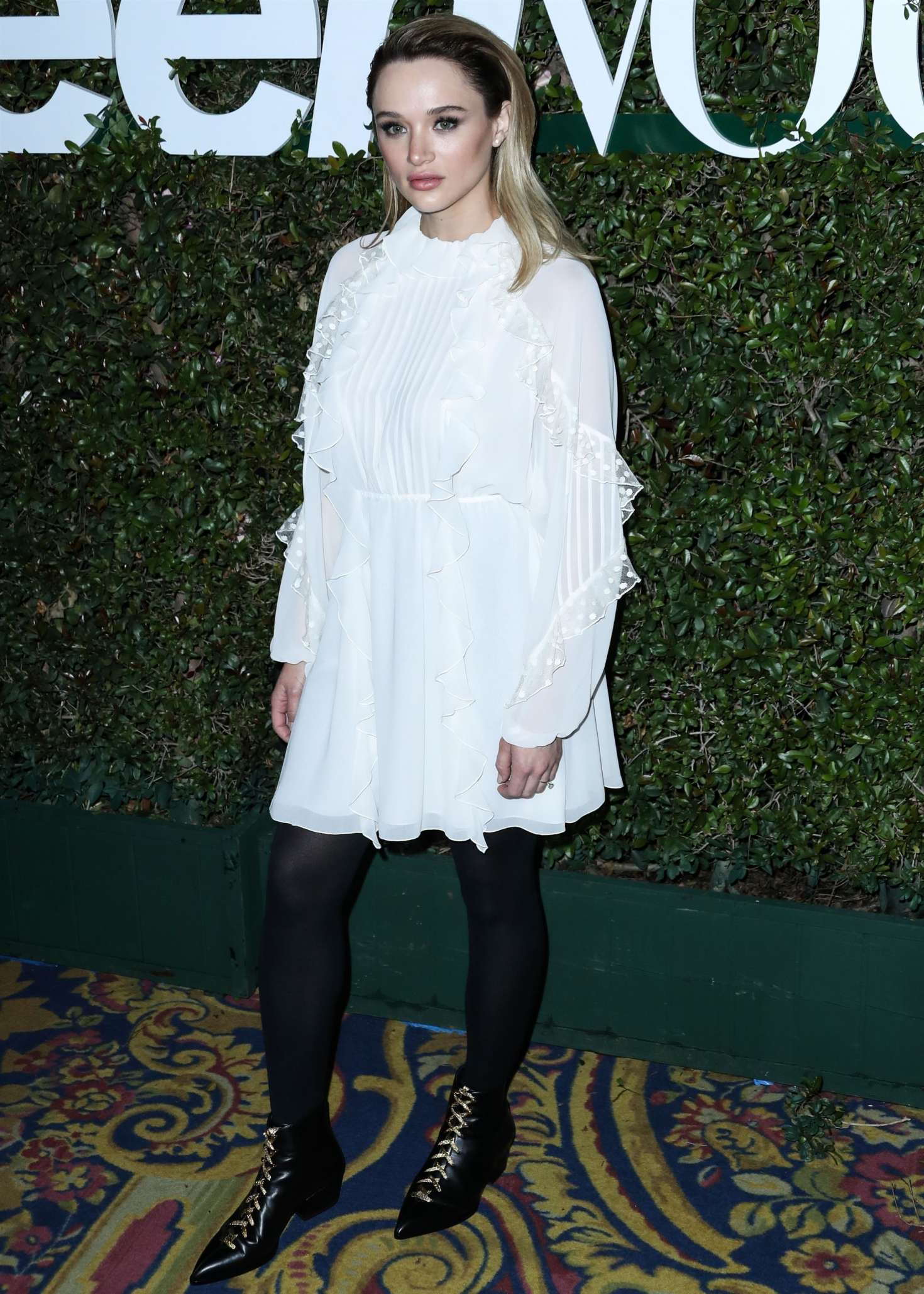 Hunter King 2019 : Hunter King: Teen Vogues 2019 Young Hollywood Party -01