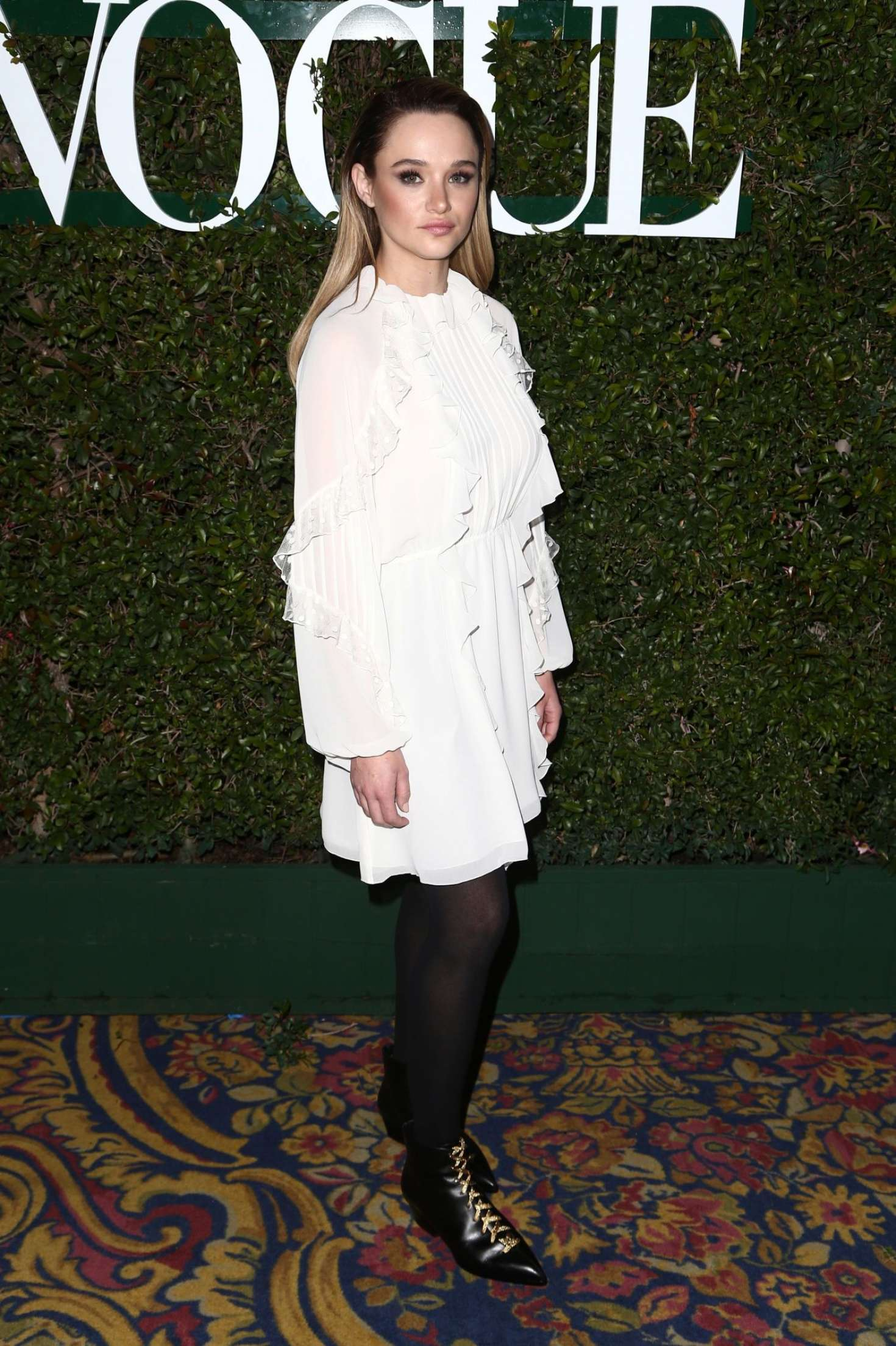 Hunter King 2019 : Hunter King: Teen Vogues 2019 Young Hollywood Party -08