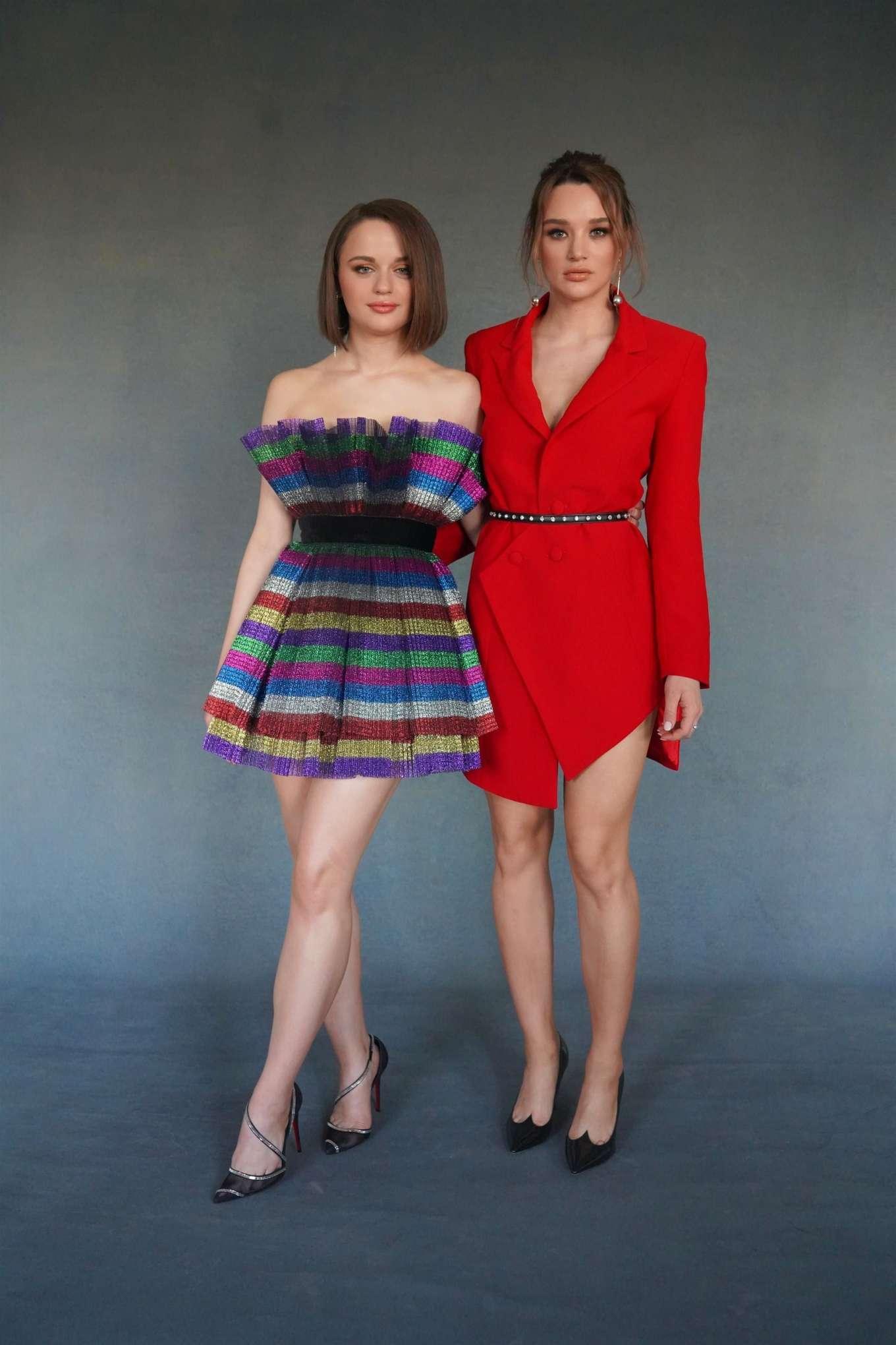 Hunter King 2019 : Hunter King – Wearing a Nathalie Karam red dress for a photoshoot at PCA 2019 in LA-01