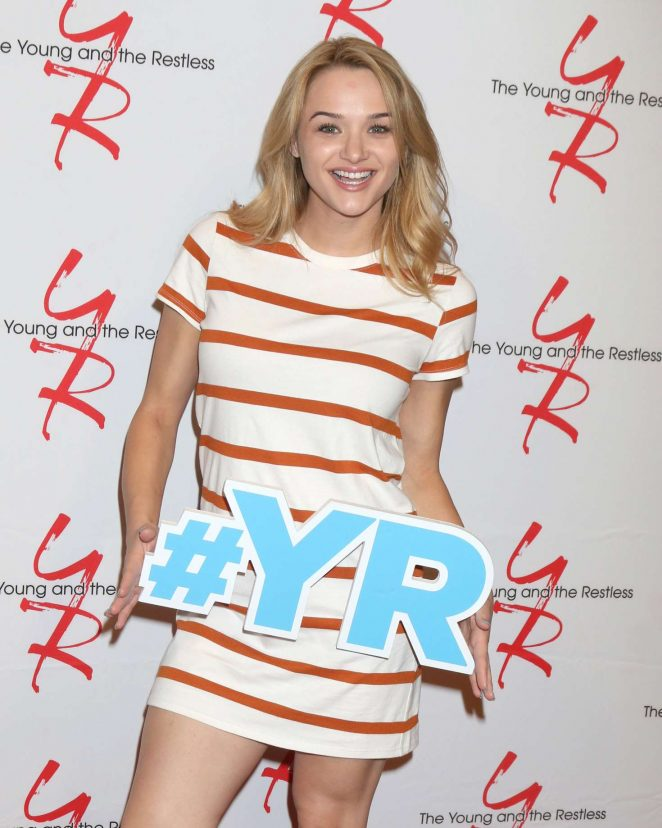 Hunter King - Young & The Restless 11,000 Show Celebration in Los Angeles